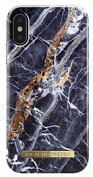 iDeal of Sweden iPhone X Midnight Blue Marble Kılıf