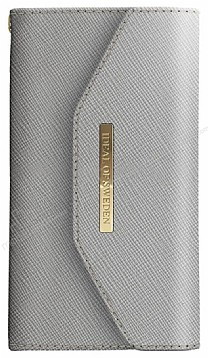 iDeal of Sweden Myfair Clutch iPhone X Light Grey Kılıf