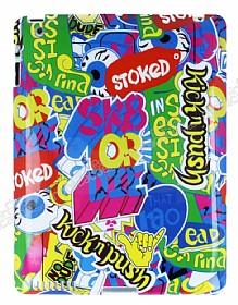 iPad 2 / 3 / 4 Graffiti Silikon Kılıf