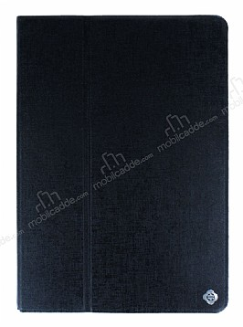 iPad Air / iPad 9.7 Kapaklı Standlı Siyah Kılıf
