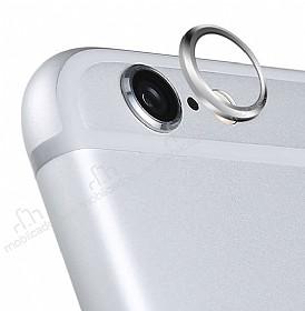 iPhone 6 / 6S Silver Kamera Lensi Koruyucu