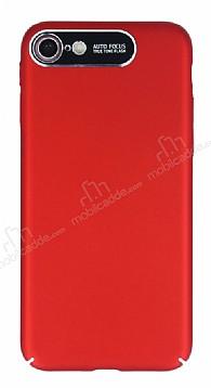 Dafoni Shade iPhone 6 / 6S Kamera Korumalı Kırmızı Rubber Kılıf