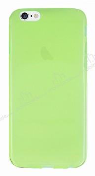 iPhone 6 / 6S Ultra İnce Şeffaf Yeşil Silikon Kılıf