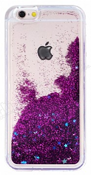 iPhone 6 Plus / 6S Plus Sulu Mor Rubber Kılıf