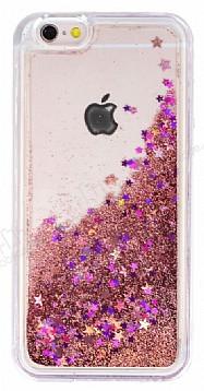iPhone 6 Plus / 6S Plus Sulu Rose Gold Rubber Kılıf
