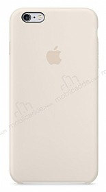 iPhone 6 Plus / 6S Plus Orjinal Antique White Silikon Kılıf