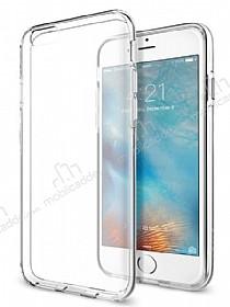 iPhone 6 Plus / 6S Plus Tam Kenar Koruma Şeffaf Rubber Kılıf