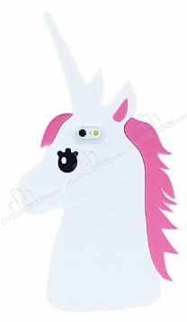 iPhone 6 Plus / 6S Plus Unicorn Beyaz Silikon Kılıf