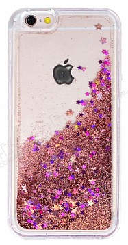 iPhone 6 / 6S Sulu Rose Gold Rubber Kılıf