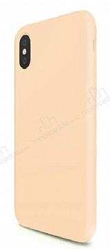 iPhone X Mat Gold Silikon Kılıf