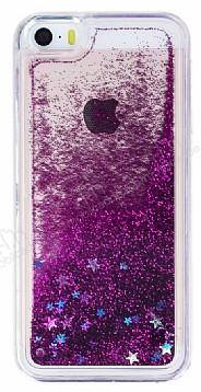 iPhone SE / 5 / 5S Sulu Mor Rubber Kılıf