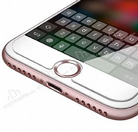 iPhone ve iPad Parmak İzi Okuyuculu Rose Gold Home Butonu