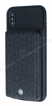 iPhone X / XS Mozaik Desenli 4000 mAh Bataryalı Kılıf