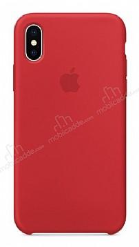 iPhone X Orjinal (PRODUCT) RED Silikon Kılıf