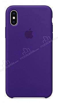 iPhone X / XS Orjinal Ultra Violet Silikon Kılıf