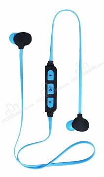 Eiroo Sport Race Mavi Bluetooth Kulaklık