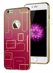 JLW Color Palette iPhone 6 Plus / 6S Plus Pembe Rubber K�l�f