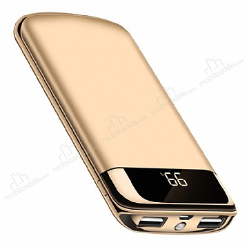 Joyroom 10000 mAh Powerbank Gold Yedek Batarya