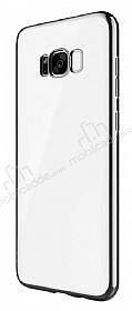 Joyroom Baikal Samsung Galaxy S8 Plus Siyah Kenarlı Silikon Kılıf