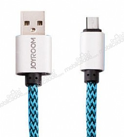 Joyroom Double Sided Mavi Micro USB Kablo 1m