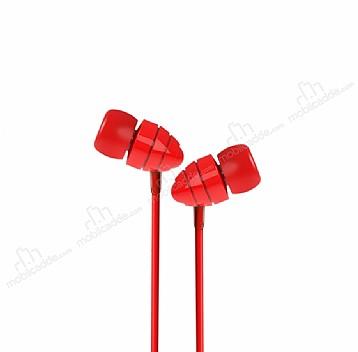 Joyroom EL112 Mikrofonlu Kulakiçi Kırmızı Kulaklık
