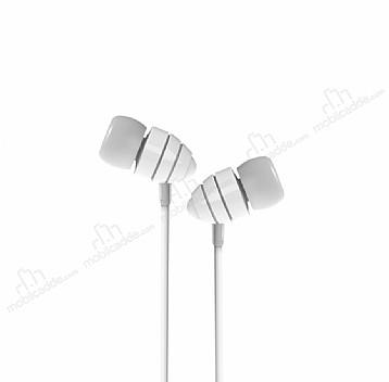 Joyroom EL112 Mikrofonlu Kulakiçi Beyaz Kulaklık