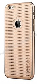 Joyroom iPhone 6 / 6S Nokta Desenli Gold Rubber Kılıf