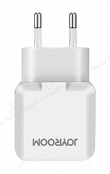 JOYROOM LL216 Beyaz Çift Girişli Ev Şarj Adaptörü