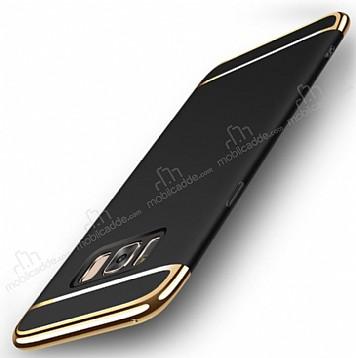 Joyroom Samsung Galaxy S8 3ü 1 Arada Siyah Rubber Kılıf