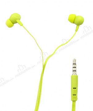 Karler Bass KR-203 Yeşil Mikrofonlu Kulakiçi Kulaklık