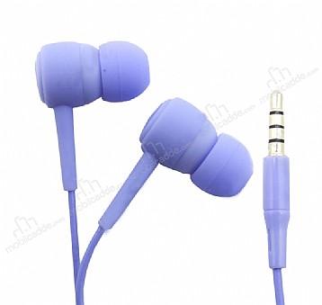 Karler Bass KR-205 Mor Mikrofonlu Kulakiçi Kulaklık