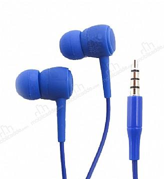 Karler Bass KR-205 Lacivert Mikrofonlu Kulakiçi Kulaklık