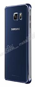 Samsung Galaxy Note 5 Orjinal Metalik Dark Blue Kenarlı Kristal Kılıf