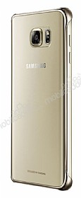 Samsung Galaxy Note 5 Orjinal Metalik Gold Kenarlı Kristal Kılıf