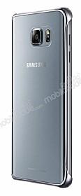 Samsung Galaxy Note 5 Orjinal Metalik Silver Kenarlı Kristal Kılıf
