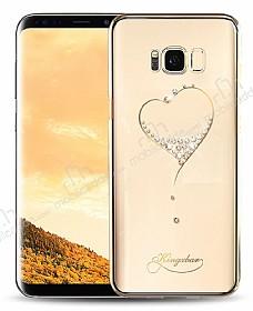 Kingxbar Samsung Galaxy S8 Kalpli Taşlı Kristal Kılıf