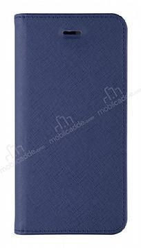 La Vie Fashion Folio iPhone X Deep Navy Kılıf