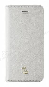 La Vie Fashion Folio iPhone X / XS Granite Grey Kılıf