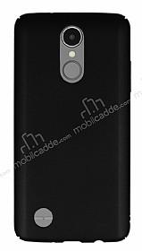 LG K8 2017 Tam Kenar Koruma Siyah Rubber Kılıf
