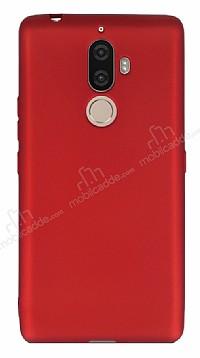 Lenovo K8 Note Mat Kırmızı Silikon Kılıf