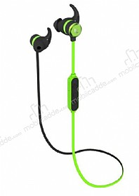 Dafoni Sport 100H HIFI Su Geçirmez Wireless Yeşil Kulaklık
