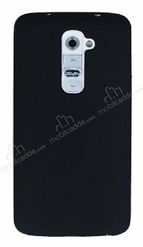 LG G2 Mat Siyah Silikon Kılıf