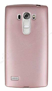 LG G4 Beat Mat Rose Gold Silikon Kılıf