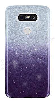 LG G5 Simli Siyah Silikon Kılıf