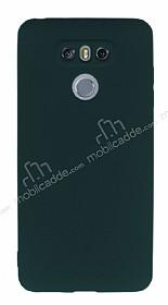 LG G6 Mat Yeşil Silikon Kılıf