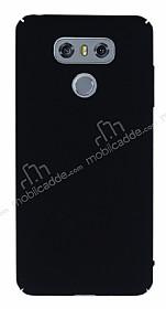 LG G6 Tam Kenar Koruma Siyah Rubber Kılıf