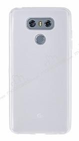 LG G6 Ultra İnce Şeffaf Silikon Kılıf