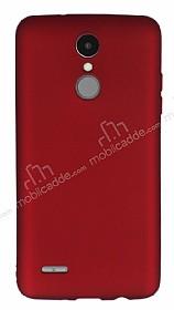 LG K8 2017 Mat Kırmızı Silikon Kılıf