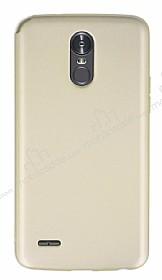 LG Stylus 3 Mat Gold Silikon Kılıf