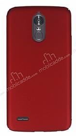 LG Stylus 3 Tam Kenar Koruma Kırmızı Rubber Kılıf